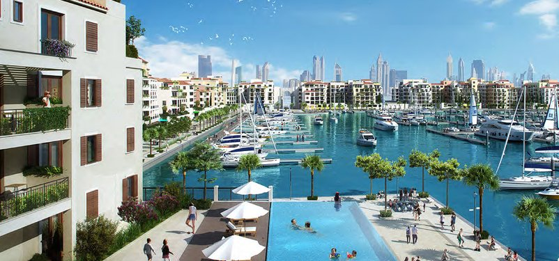 New Homes Port de La Mer by Meraas, Jumeirah
