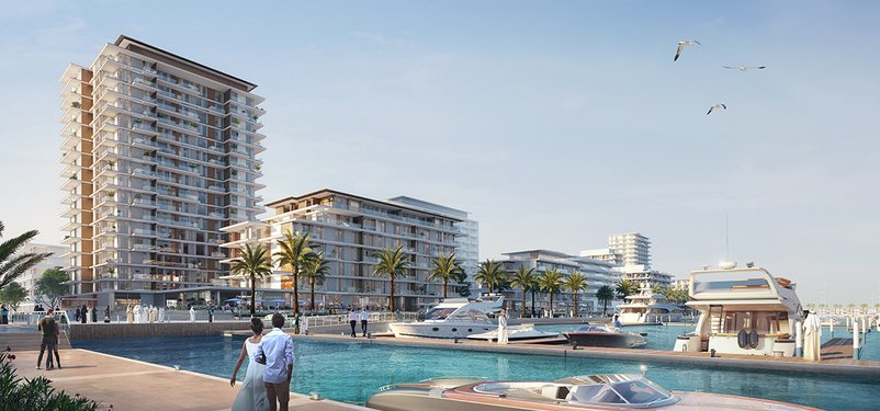 New Homes Seashore at Mina Rashid, by Emaar
