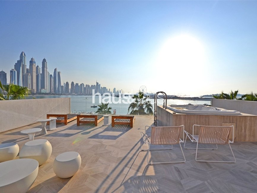 4 bedroom Villa for rent in FIVE Palm Jumeirah - view 1
