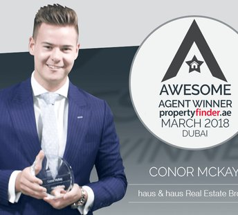 latest news Congratulations to Conor for winning Propertyfinder's Awesome Agent of the Month Award for March!