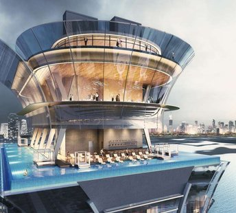 latest news Dubai vs. London: the battle of the 360-degree rooftop infinity pools
