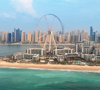 latest news Dubai's Bluewaters island with world's largest observation wheel opens